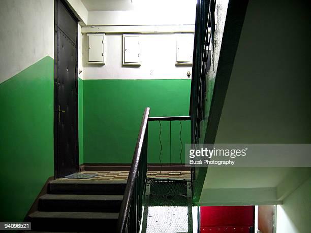 Kruschevska, stairway