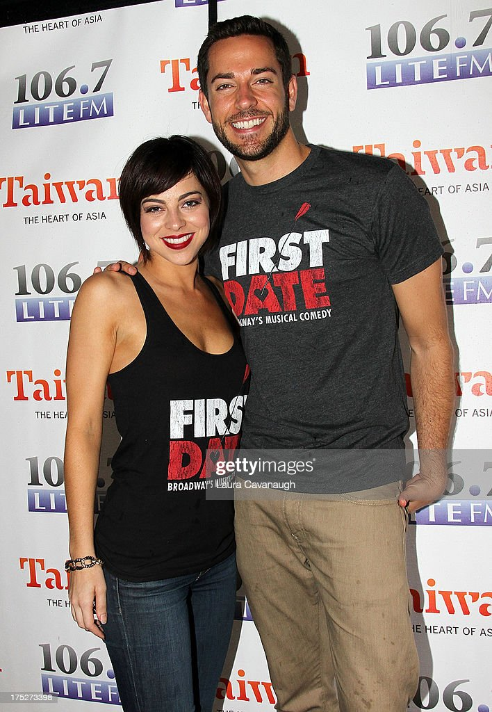 <a gi-track='captionPersonalityLinkClicked' href=/galleries/search?phrase=Krysta+Rodriguez&family=editorial&specificpeople=5356530 ng-click='$event.stopPropagation()'>Krysta Rodriguez</a> and <a gi-track='captionPersonalityLinkClicked' href=/galleries/search?phrase=Zachary+Levi&family=editorial&specificpeople=242766 ng-click='$event.stopPropagation()'>Zachary Levi</a> attend 106.7 LITE FM's Broadway in Bryant Park 2013 at Bryant Park on August 1, 2013 in New York City.