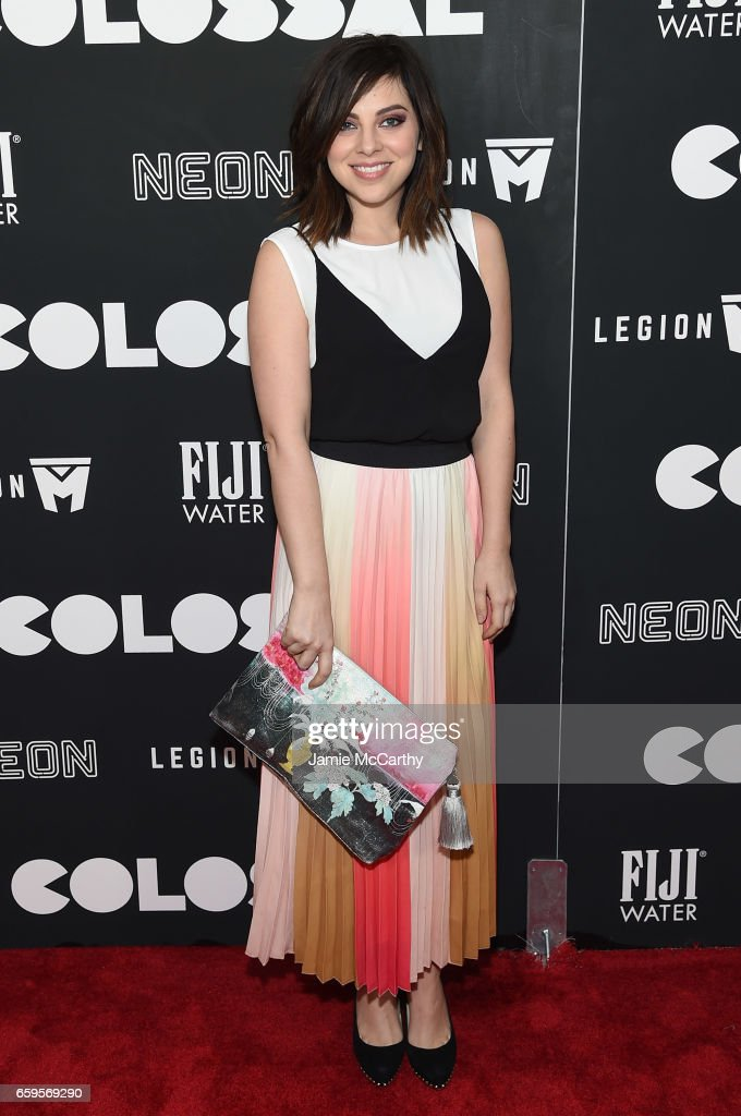 Krysta Rodriguez attends the 'Colossal' premiere at AMC Lincoln Square Theater on March 28, 2017 in New York City.