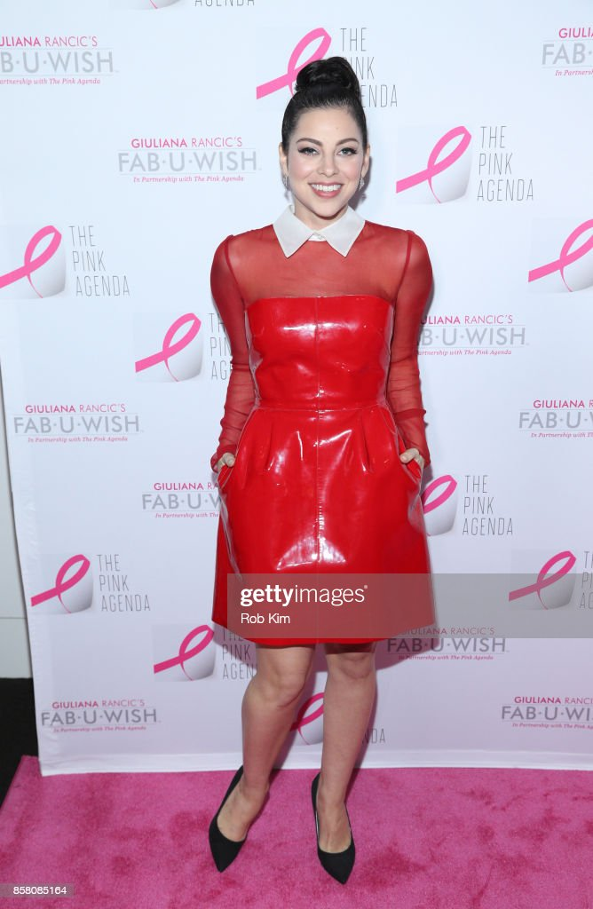 Krysta Rodriguez attends The Pink Agenda 10th Annual Gala at Three Sixty Degrees on October 5, 2017 in New York City.