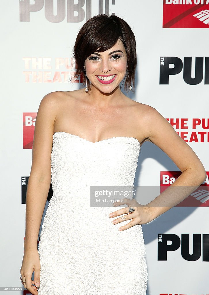 <a gi-track='captionPersonalityLinkClicked' href=/galleries/search?phrase=Krysta+Rodriguez&family=editorial&specificpeople=5356530 ng-click='$event.stopPropagation()'>Krysta Rodriguez</a> attends the Public Theater's 2014 Gala celebrating 'One Thrilling Combination' on June 23, 2014 in New York, United States.