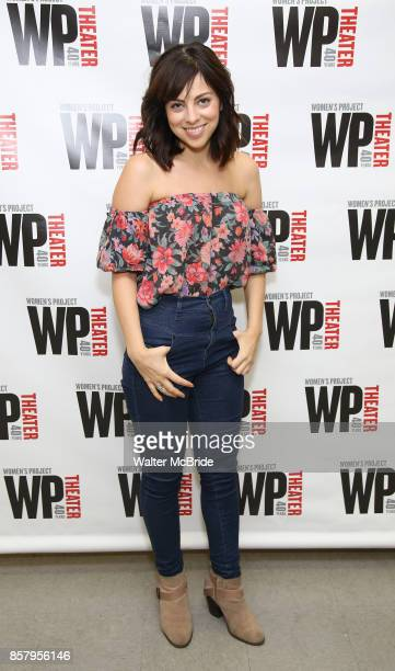 Krysta Rodriguez attends the WP Theater production of 'What We're Up Against' Photo Calll at WP Theater Office on October 5 2017 in New York City