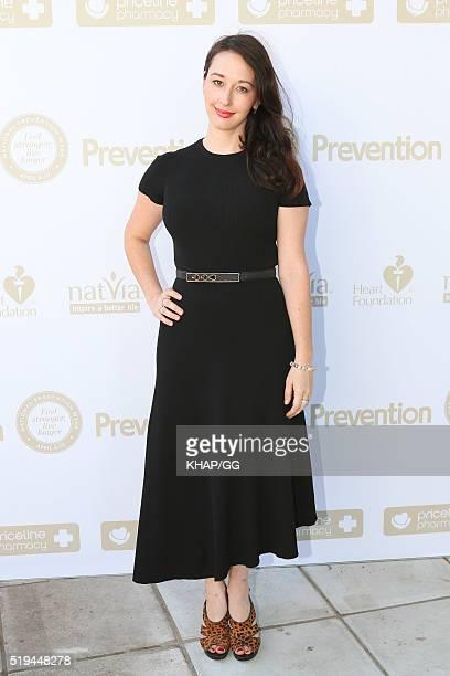 Krystal Barter attends National Prevention Week Breakfast held at Catalina Restaurant on April 05 2016 in Sydney Australia