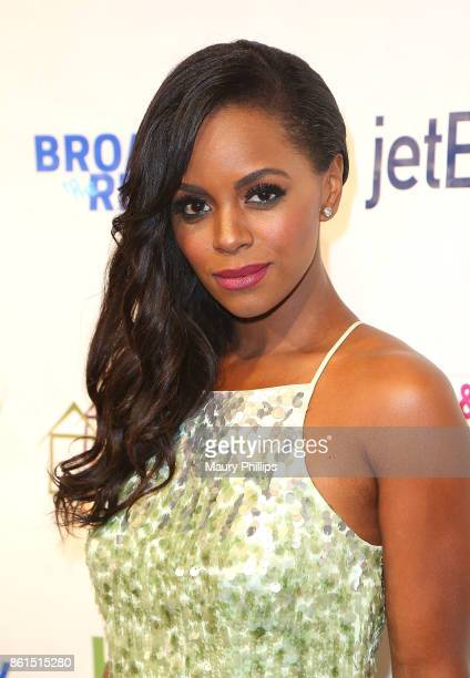 Krystal Joy Bra attends Broadway to The Rescue a benefit for the homeless at The Montalban Theater on October 14 2017 in Los Angeles California