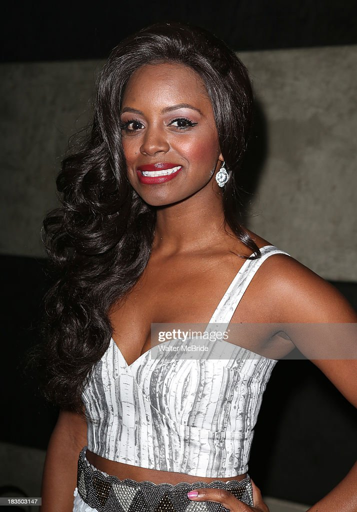 Krystal Joy Brown attends the 'Big Fish' Broadway Opening Night after party at Roseland Ballroom on October 6, 2013 in New York City.