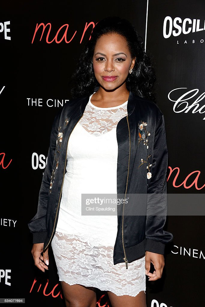Krystal Joy Brown attends The Cinema Society and Chopard Host a Screening of Oscilloscope's 'ma ma' at Landmark Sunshine Theatre on May 24, 2016 in New York City.
