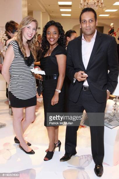 Krystal Lynn Danielle Jones and Rajan Shah attend VOGUE and HP Host Cocktails and Fashion Presentation to Preview the HP Spring 2010 Collection at...