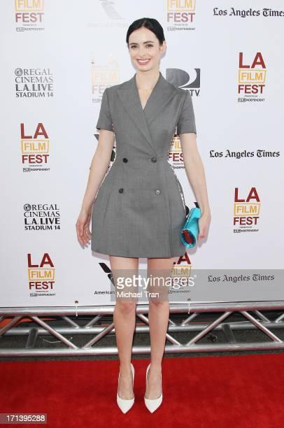 Krysten Ritter arrives at the 2013 Los Angeles Film Festival 'The Way Way Back' closing night gala held at Regal Cinemas LA LIVE Stadium 14 on June...