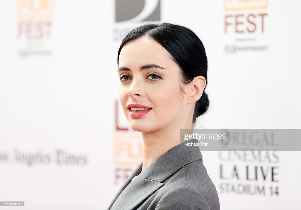 Krysten Ritter arrives at the 2013 Los Angeles Film Festival 'The Way, Way Back' closing night gala held at Regal Cinemas L.A. LIVE Stadium 14 on June 23, 2013 in Los Angeles, California.