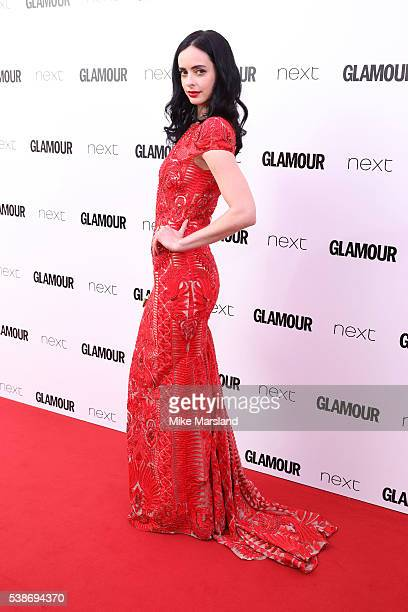Krysten Ritter arrives for the Glamour Women Of The Year Awards on June 7 2016 in London United Kingdom