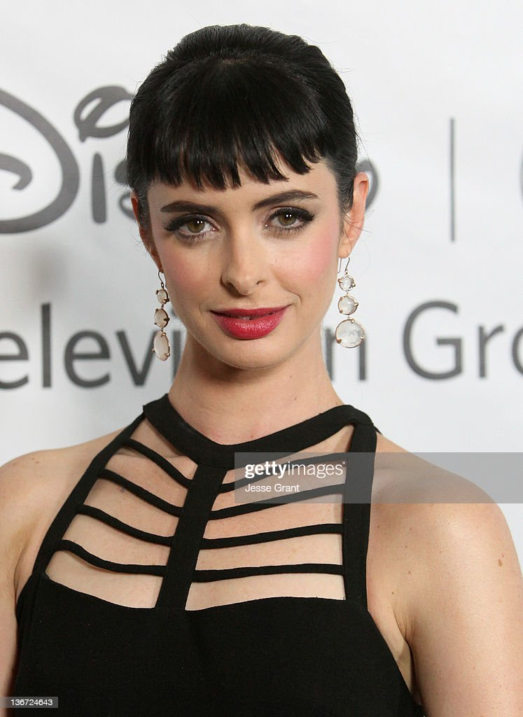 Krysten Ritter arrives to Disney ABC Television Group's 'TCA Winter Press Tour' at the Langham Huntington Hotel on January 10, 2012 in Pasadena, California.