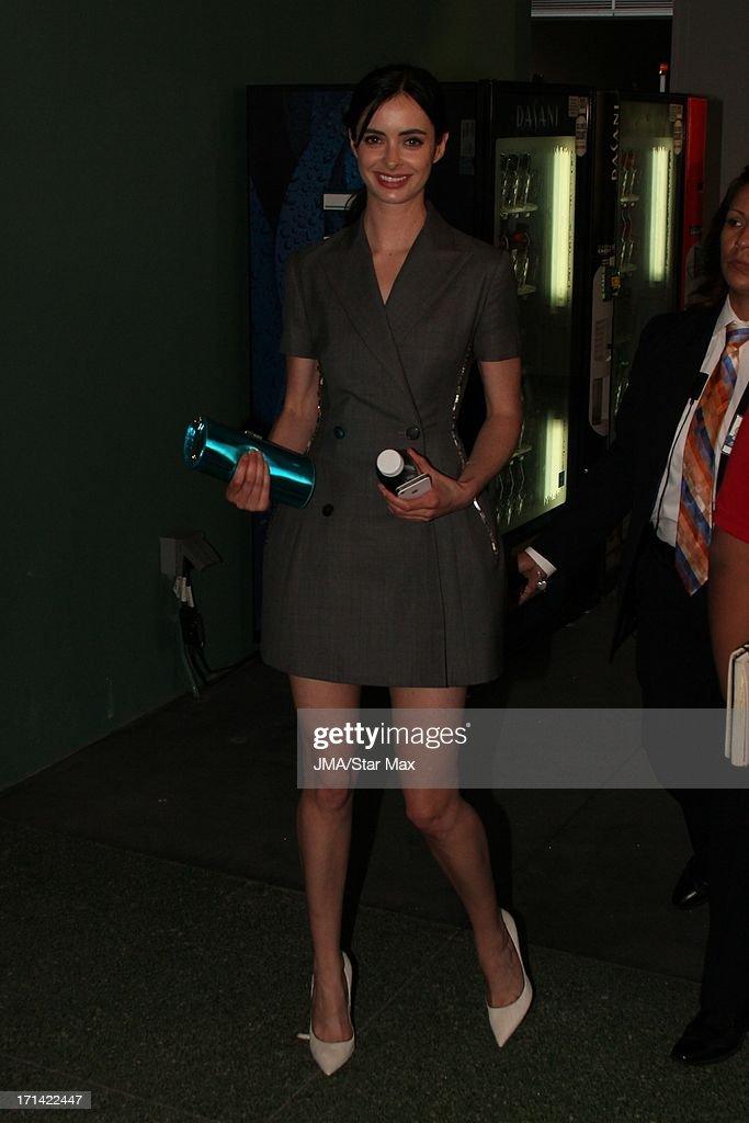Krysten Ritter as seen on June 23, 2013 in Los Angeles, California.