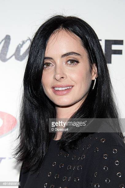 Krysten Ritter attends a screening of IFC Films' 'Asthma' hosted by The Cinema Society and Northwest at The Roxy Hotel on October 8 2015 in New York...