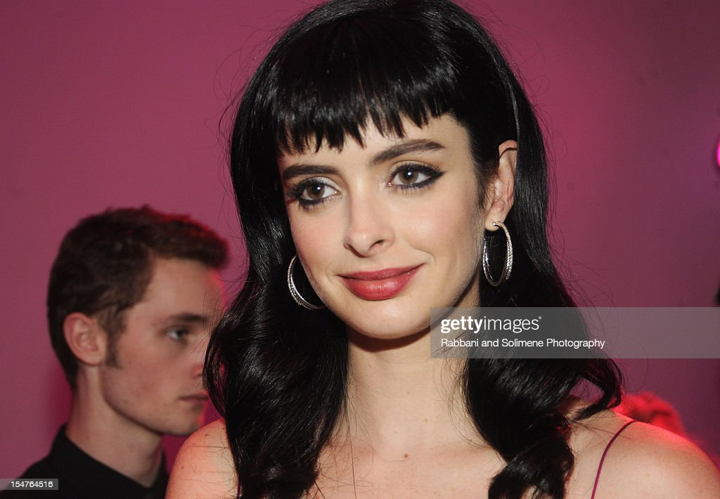 Krysten Ritter attends Jimmy Choo Celebrates the Launch of the Exclusive Collaboration with Artist Rob Pruitt at The Fletcher Sinclair Mansion on October 25, 2012 in New York City.