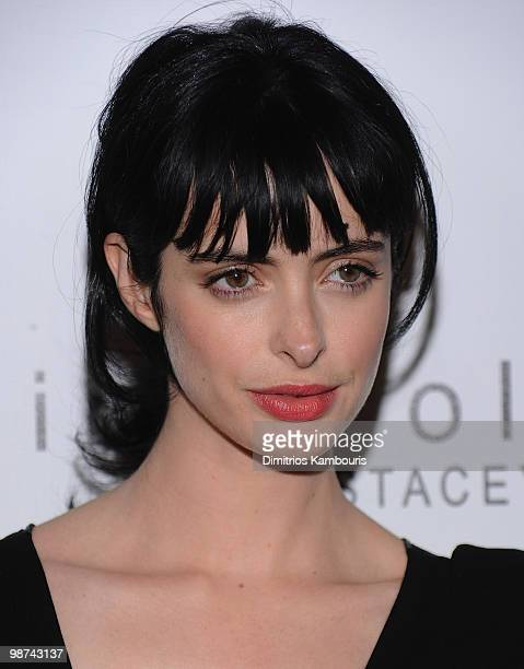 Krysten Ritter attends the 2nd Annual Bent on Learning Benefit at The Puck Building on April 28 2010 in New York City