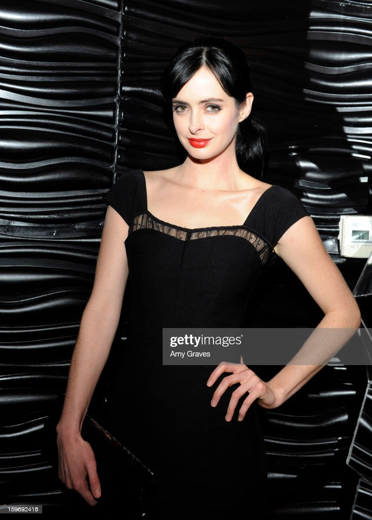 Krysten Ritter attends the Beck's Sapphire Launch Event on January 17, 2013 in Beverly Hills, California.