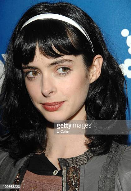 Krysten Ritter during The Fox AllStar Winter 2007 TCA Press Tour Party Red Carpet and Inside at Villa Sorriso in Pasadena California United States