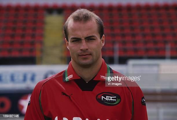 Krzysztof Bociek during the team presentation of NEC Nijmegen in july 1998 in Nijmegen The Netherlands