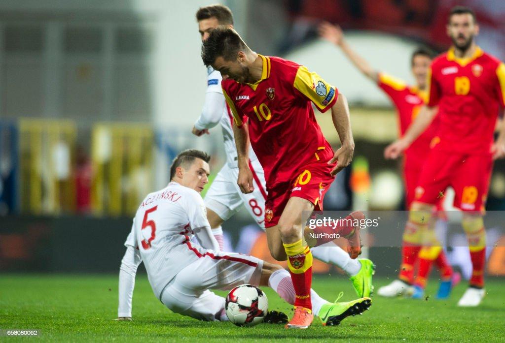 Montenegro v Poland - FIFA 2018 World Cup Qualifier