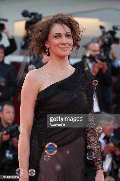 Ksenia Rappoport on the red carpet for 'Philomena' during the 70th Venice International Film Festival