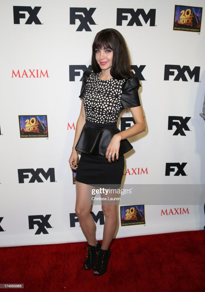 <a gi-track='captionPersonalityLinkClicked' href=/galleries/search?phrase=Ksenia+Solo&family=editorial&specificpeople=6717126 ng-click='$event.stopPropagation()'>Ksenia Solo</a> attends the Maxim, FX and Home Entertainment Comic-Con Party on July 19, 2013 in San Diego, California.