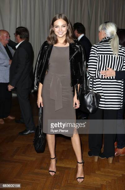 Ksenija Lukich attends the Bec Bridge show at MercedesBenz Fashion Week Resort 18 Collections at Seven at David Jones on May 16 2017 in Sydney...