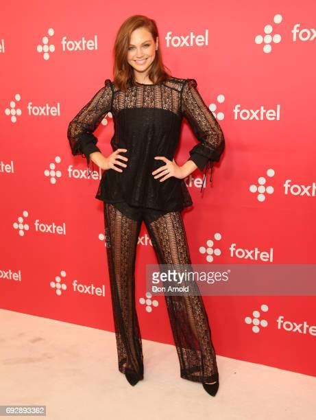 Ksenija Lukich poses during a Foxtel Event at Hordern Pavilion on June 6 2017 in Sydney Australia