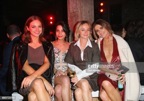Ksenija Lukich Rey Vakili Nadia Fairfax and Kate Waterhouse attend the Christopher Esber show at MercedesBenz Fashion Week Resort 18 Collections at...