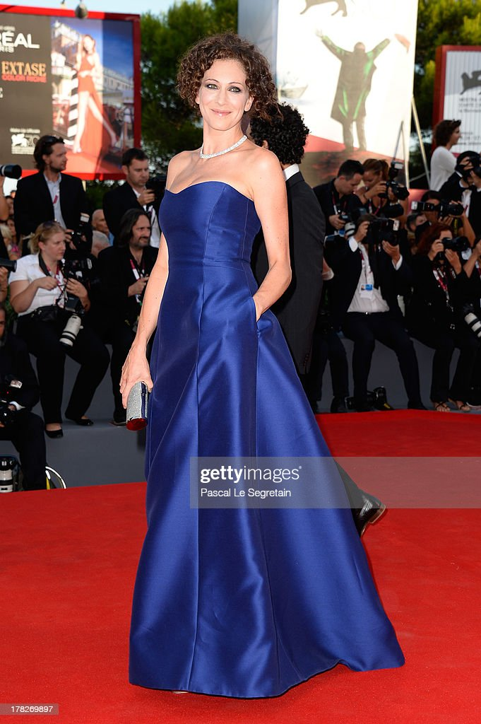 Kseniya Rappoport attends the Opening Ceremony And 'Gravity' Premiere during the 70th Venice International Film Festival at the Palazzo del Cinema on August 28, 2013 in Venice, Italy.