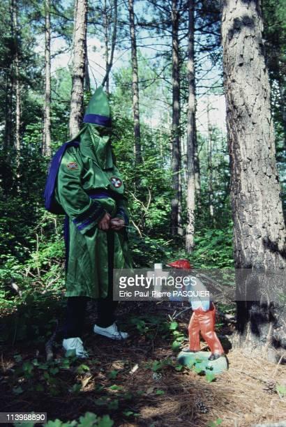 Ku Klux Klan In United StatesDuring a Klan rally a Klansman urinates on a garden figurine of a black boy Members of the KKK consider blacks to be...
