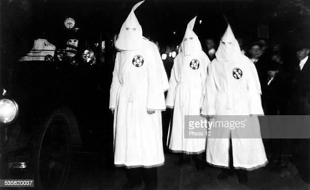 Ku Klux Klan parade in Virginia March 18 1922 United States Washington Library of Congress