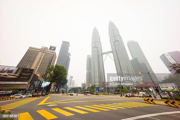 Kuala Lumpur City Centre juntion