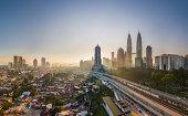 Kuala Lumpur City: Shine on me...