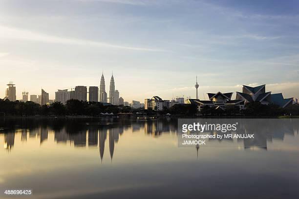 Kuala Lumpur in the morning time.