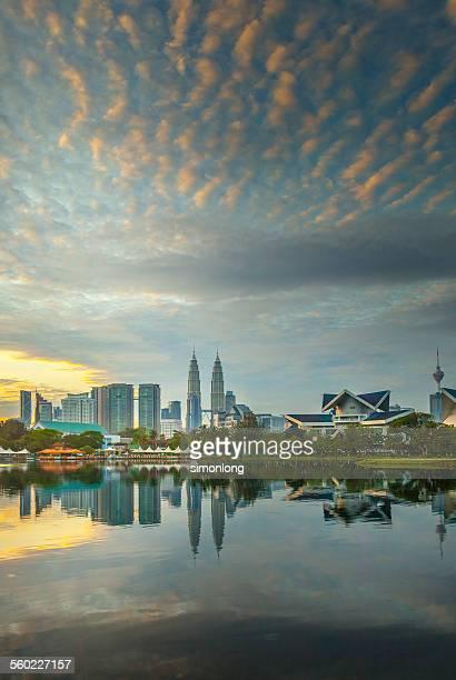 Kuala Lumpur landscape from Lake view