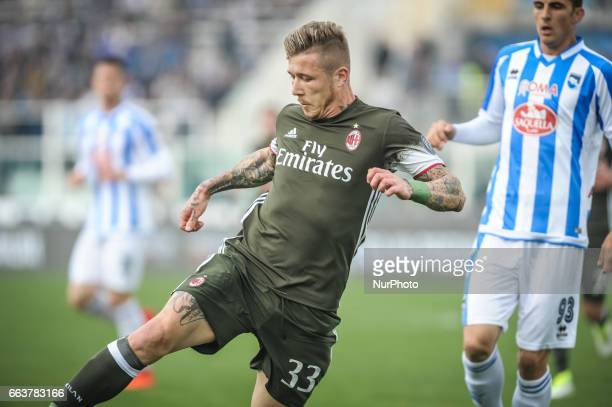 Kucka Juraj during the Italian Serie A football match Pescara vs Milan on April 02 in Pescara Italy