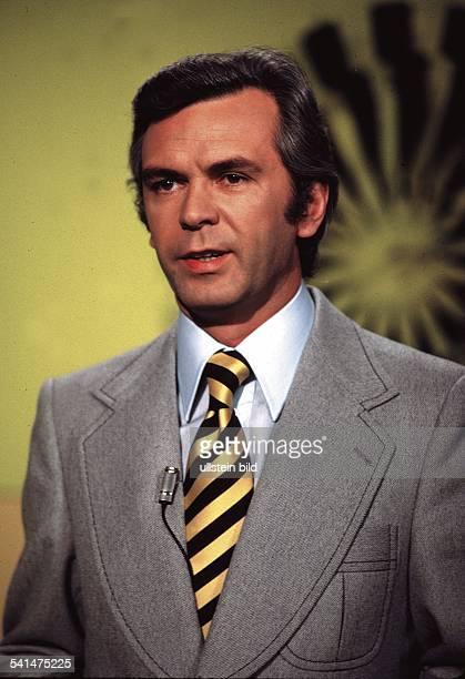 Kuerten Dieter *Sportreporter Moderator D Portrait 1972