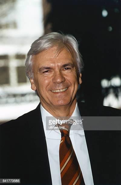 Kuerten Dieter *Sportreporter Moderator D Portrait 1998
