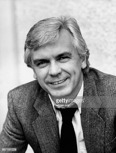 Kuerten Dieter Sportreporter Moderator DD Portrait 1985