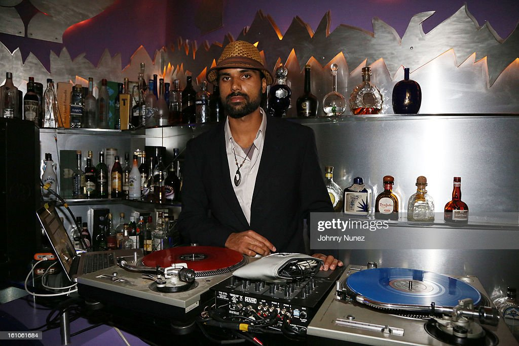DJ Kuhnex spins at the Femdouble Producers Choice Honorees Gala at Bel Air Ship Mansion on February 8, 2013 in Belair, California.