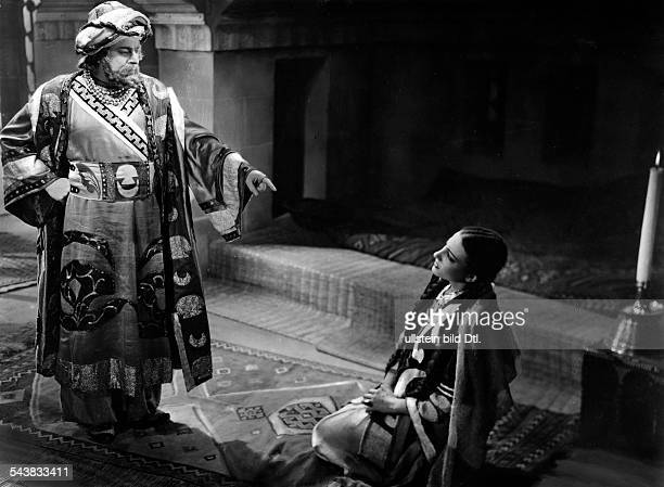 Kulthum Umm Singer Actress Egypt*04051898In a scene from the film 'Widad' Director Ahmad Badr Khan Fritz Kramp and Jamal Madkur undated Published by...