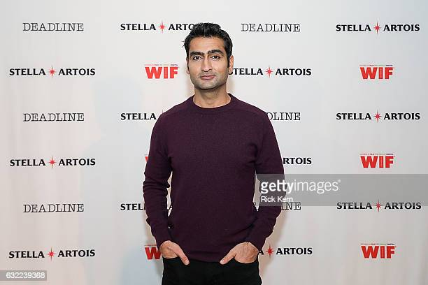 Kumail Nanjiani and the cast of 'The Big Sick' participate in a live QA hosted by Stella Artois and Deadlinecom in the Stella Artois Filmmaker Lounge...