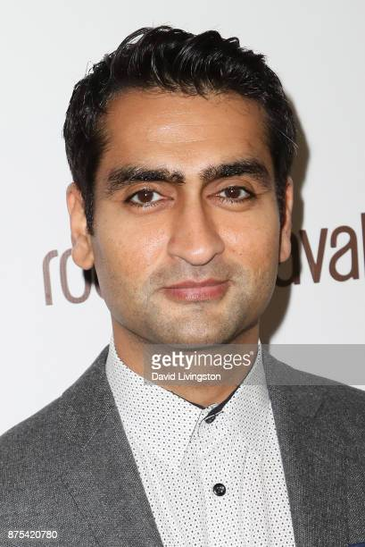 Kumail Nanjiani arrives at the Lupus LA 15th Annual Hollywood Bag Ladies Luncheon at The Beverly Hilton Hotel on November 17 2017 in Beverly Hills...