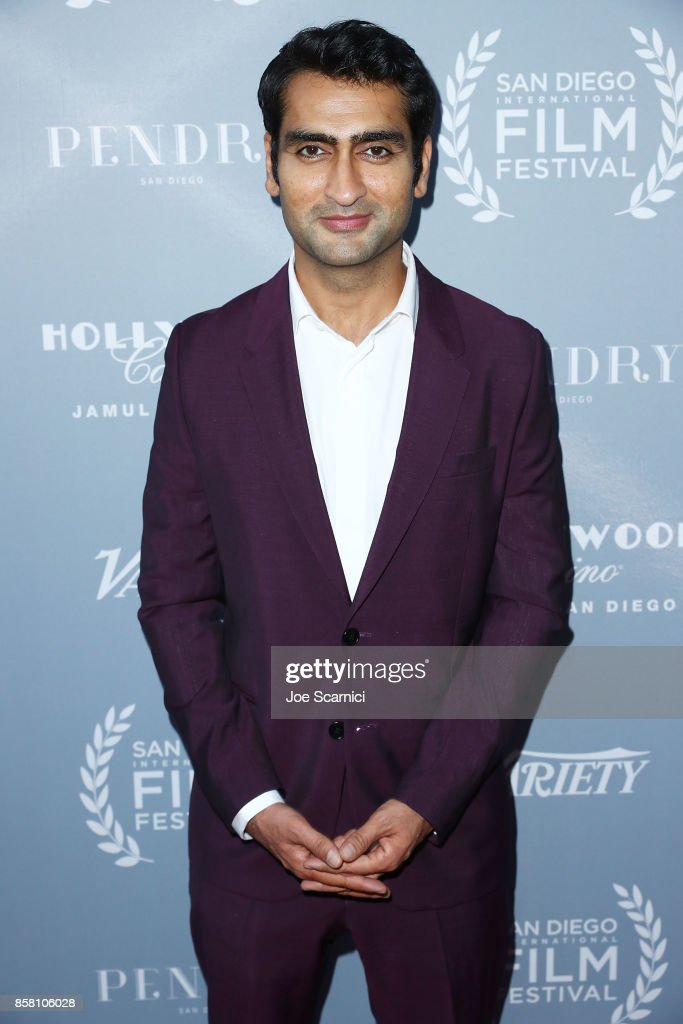 Kumail Nanjiani arrives at the San Diego International Film Festival's 'Night Of The Stars' at Pendry San Diego on October 5, 2017 in San Diego, California.