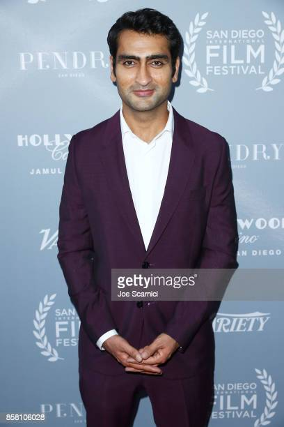Kumail Nanjiani arrives at the San Diego International Film Festival's 'Night Of The Stars' at Pendry San Diego on October 5 2017 in San Diego...