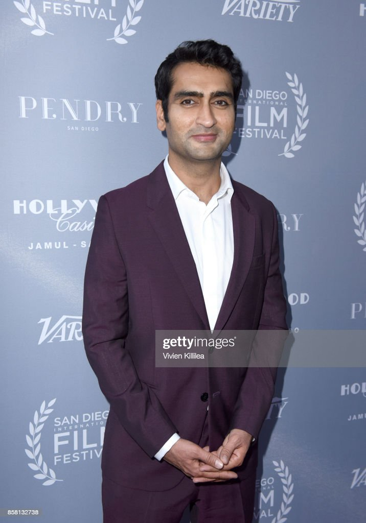 Kumail Nanjiani attends the San Diego International Film Festival 2017 on October 5, 2017 in San Diego, California.