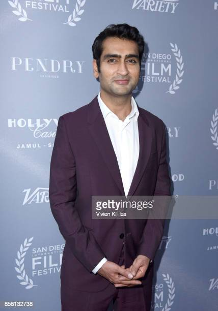 Kumail Nanjiani attends the San Diego International Film Festival 2017 on October 5 2017 in San Diego California