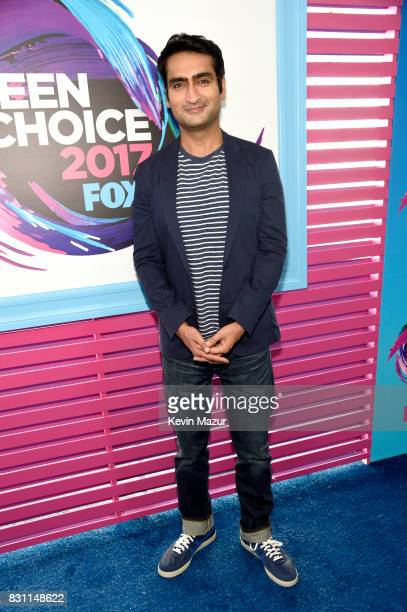 Kumail Nanjiani attends the Teen Choice Awards 2017 at Galen Center on August 13 2017 in Los Angeles California