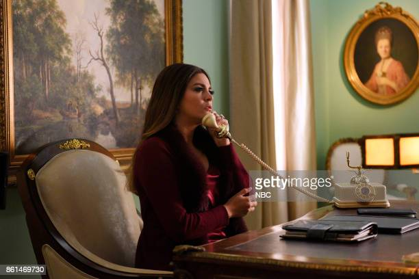 LIVE 'Kumail Nanjiani' Episode 1728 Pictured Cecily Strong as First Lady Melania Trump during 'In the Middle of the Night' on Saturday October 14 2017