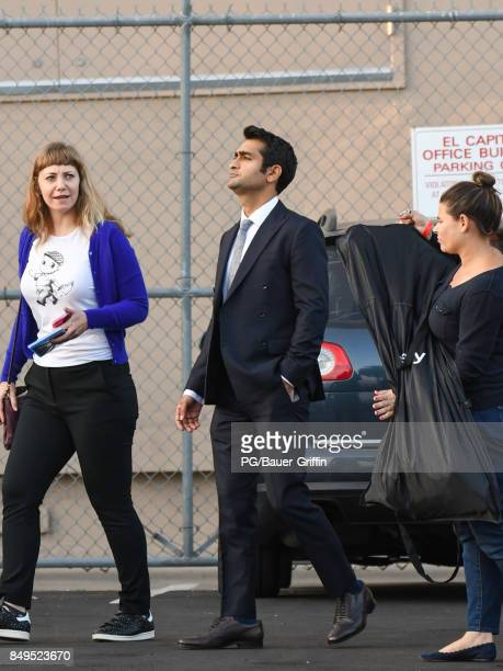 Kumail Nanjiani is seen at 'Jimmy Kimmel Live' on September 18 2017 in Los Angeles California
